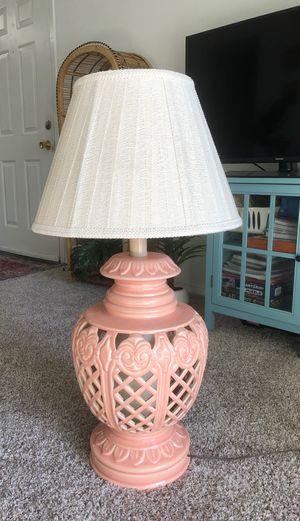 Vintage peach lamp for Sale in Salt Lake City, UT