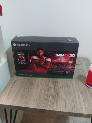 Xbox One X 2K 20 NBA for Sale in Bakersfield, CA