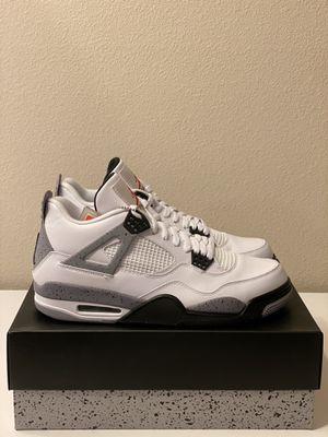 "Air Jordan 4 Retro ""White Cement"" Size 12 for Sale in San Diego, CA"