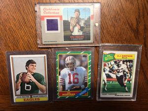 OLD BASEBALL, FOOTBALL CARDS for Sale in Gilbertsville, PA