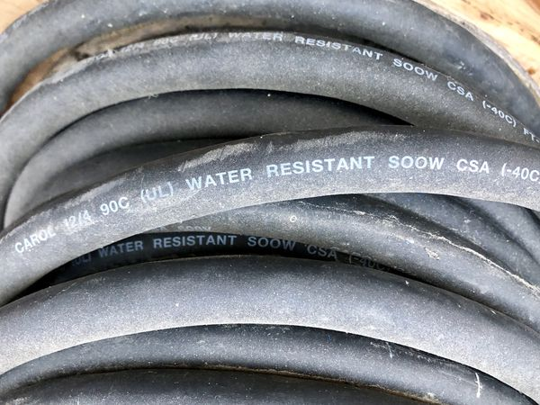 Water proof wire
