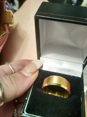 Gold plated ring for Sale in Brier, WA