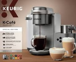 Keurig K Cafe specialty drinks with milk frother for Sale in Tamarac, FL