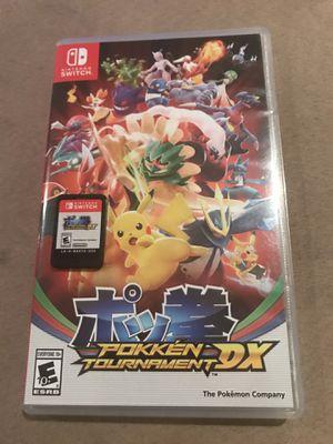 Pokken Tournament DX Nintendo Switch Game for Sale in East Brunswick, NJ