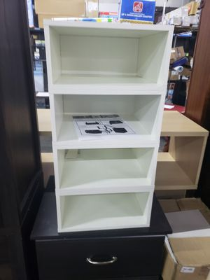 White shelf for Sale in Concord, NC