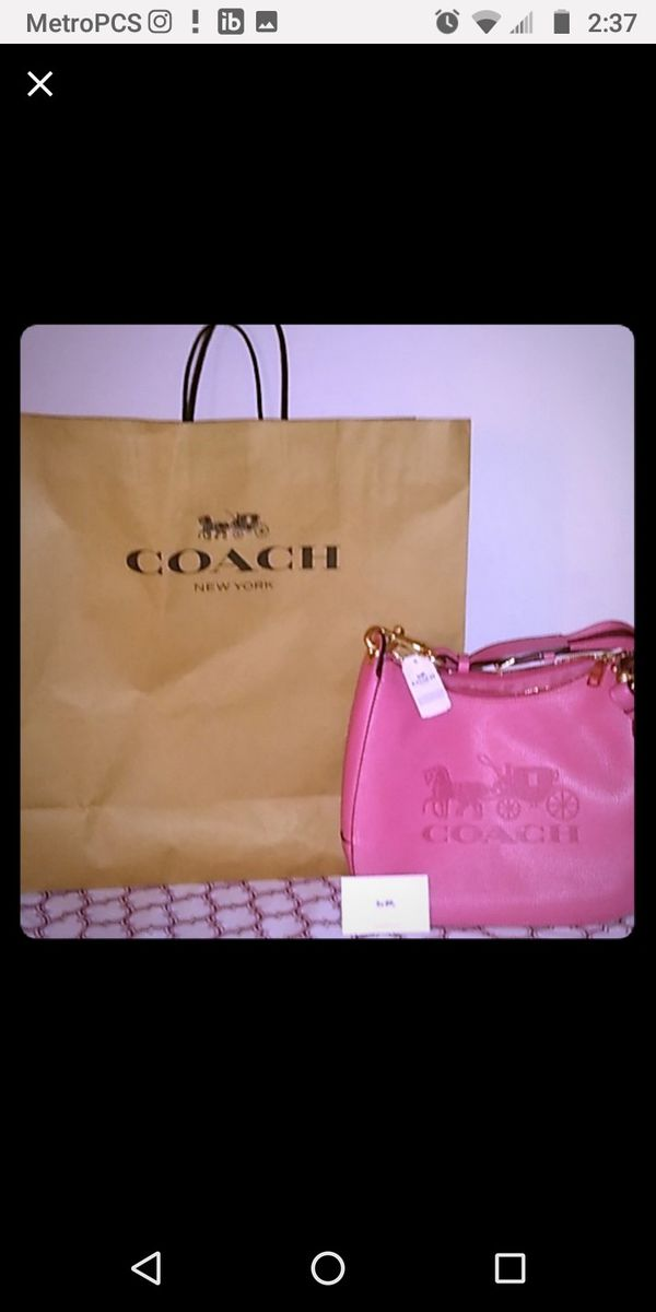 Authentic Never Used Coach Purse