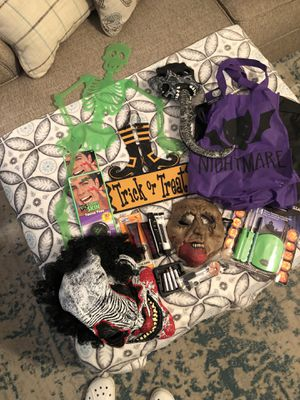 Halloween stuff all for $20 for Sale in Dallas, TX