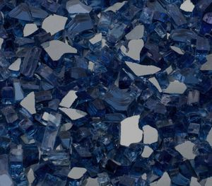 Exotic Cobalt Blue Fire Pit Glass for Sale in Peoria, AZ