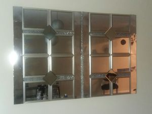 Large Mirror wall decor for Sale in Peoria, IL
