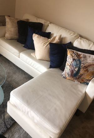 White Sectional Couch for Sale in Washington, DC