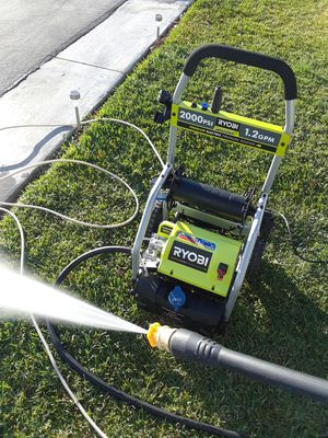 Ryobi 2000 psi electric pressure washer for Sale in Bloomington, CA