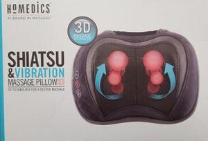 Homedics 3D Shiatsu & Vibration Massage Pillow with Heat for Sale in Aspen Hill, MD