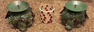3 Candle Holders for Sale in Hemet, CA