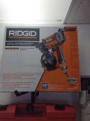 Ridgid 1-3/4 in. Roofing Coil Nailer for Sale in Apache Junction, AZ