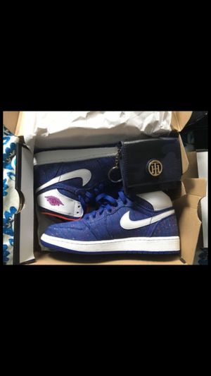 Air jordon 1 retro high GG with Tommy Hilfiger wallet for Sale in Boston, MA