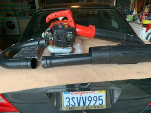 Homelite has weed and leaf blower with attachments for sweeping into a leaf bag. for Sale in Diamond Bar, CA