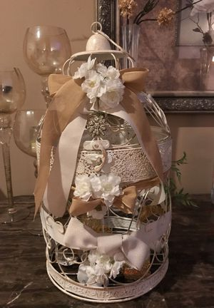 Wedding card Bird cage for Sale in Charlotte, NC