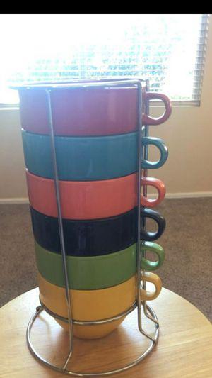 6pc world market soup cup/mug set for Sale in Chandler, AZ