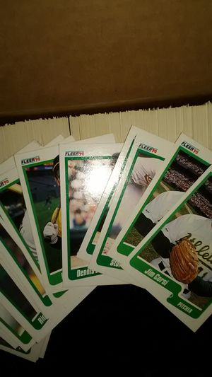 Fleer baseball cards for Sale in South San Francisco, CA