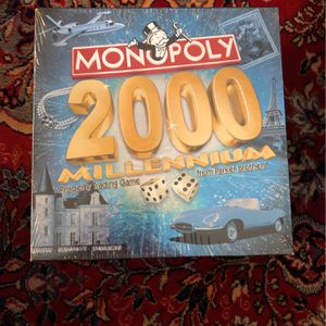 Monopoly 2000 Millennium Classic And Sealed for Sale in Chicago, IL