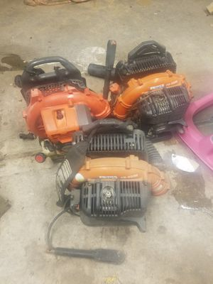 2 Echo and 1 Husqvarna Back pack Blower ( Need Repairs) for Sale in Houston, TX