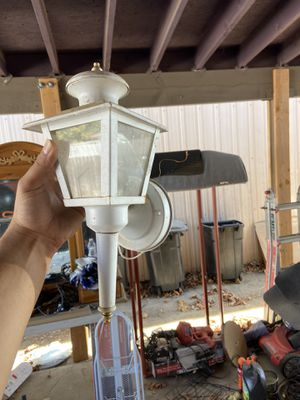 Outdoor lamp for Sale in Tulare, CA