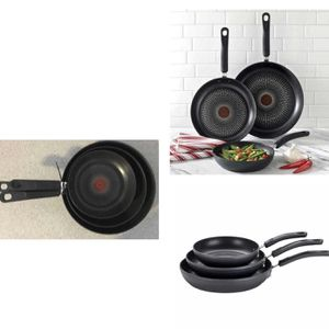 T-Fal 3-piece Fry Pan Set for Sale in Stafford, TX