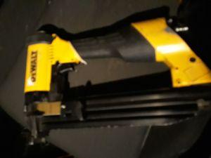 Dewalt 16 gauge wide crown nail gun for Sale in Salt Lake City, UT