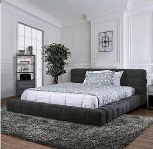 Queen bed frame with pillow top included for Sale in Perris, CA