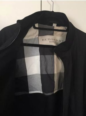 Men's Burberry bomber jacket for Sale in Cleveland, OH