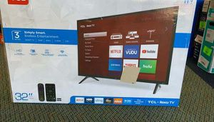 "Brand New TCL 32"" TV open box w/ warranty VCR for Sale in Farmers Branch, TX"