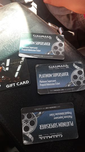 Cinemark movie passes for Sale in San Jose, CA