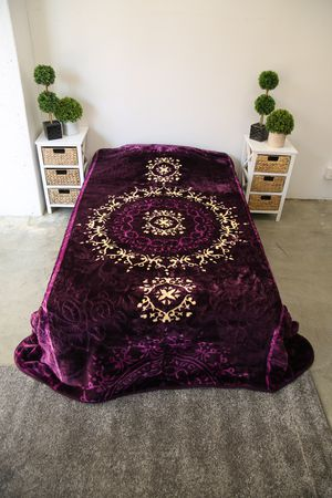 King thick blanket Korean style washable in machine ideal for every room in your house for Sale in Los Angeles, CA