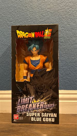 Super Saiyan blue Goku action figure for Sale in Lancaster, CA