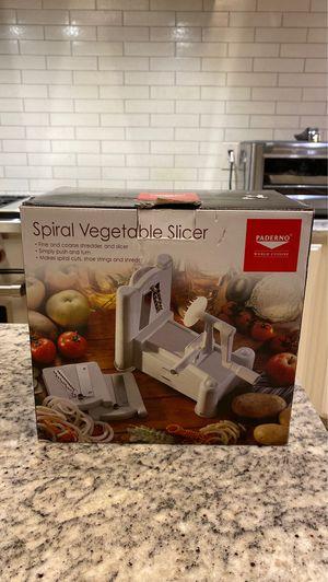 PADERNO World Cuisine Spiral Vegetable Slicer for Sale in Scottsdale, AZ