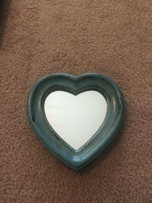 Heart mirror wall decor for Sale in Dinuba, CA