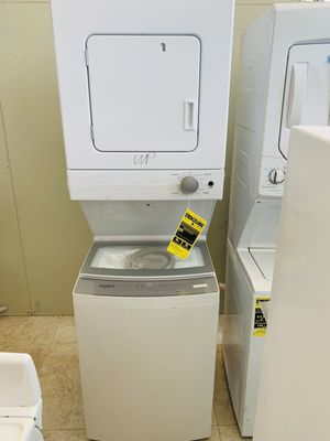 "🔥HOT DEAL🔥 New Stackable Washer & Electric Dryer 24"" wide Whirlpool Only $899.00 for Sale in Lake Worth, FL"