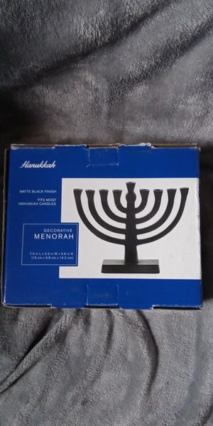 Hanukkah Decorative Menorah for Sale in Monongahela, PA