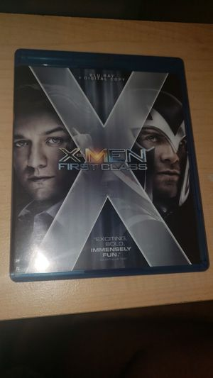X MEN FIRST CLASS BLUE RAY for Sale in San Antonio, TX