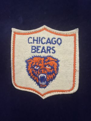 Vintage wool Chicago Bears stadium blanket for Sale in Itasca, IL