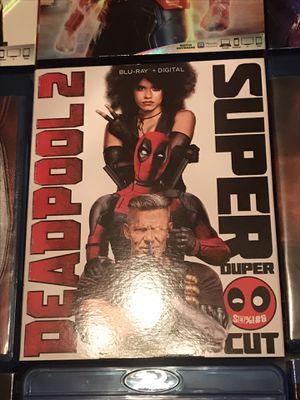 Deadpool 2 Blu ray Super Duper Cut included for Sale in Gardena, CA