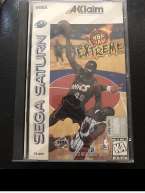 Sega Saturn NBA Jam EXTREME game for Sale in San Antonio, TX