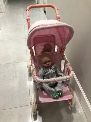 Doll double stroller for Sale in Pembroke Pines, FL