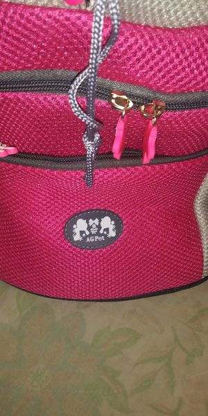 Pet carrier backpack by AG Pet for Sale in Lavonia, GA