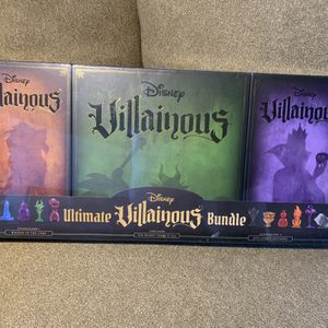 Ravensburger Disney Villainous Board Game + 2 Expansion Games 3 Piece New for Sale in Anoka, MN