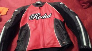 Women's Joe Rocket Leather Motorcycle Jacket for Sale in Columbus, OH