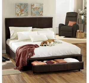 Brand new open box queen bed frame for Sale in Chaska, MN