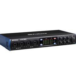 PreSonus Studio 1810c 18x8, 192 kHz, USB-C Audio Interface, 4 Mic Pres-6 Line Outs-ADAT, Black for Sale in North Las Vegas,  NV