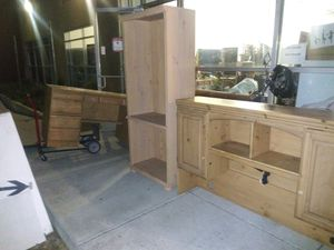 Book shelf and office desk with hutch for Sale in San Ramon, CA