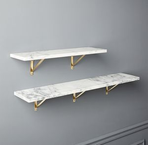 CB2 Marble Wall Mounted Shelves for Sale in Houston, TX